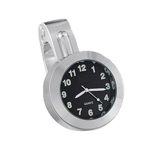 Motor Stuur Horloge / Klokje  Aluminium