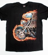 Wheels on Fire Shirt  ,.