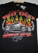 Billy-Eight-Biker-shirt--Hot-Rod-Kustom-Show-Deuce-Day-maat-M-