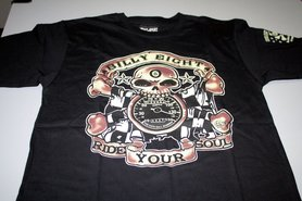 billy eight ride your soul shirt